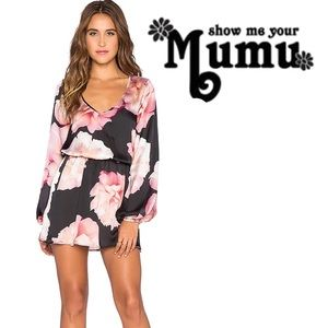 Rainey Show Me Your MuMu Floral Long Sleeve Mini